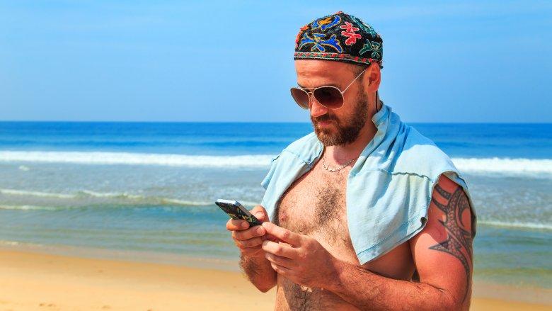 beard sunburn sunscreen