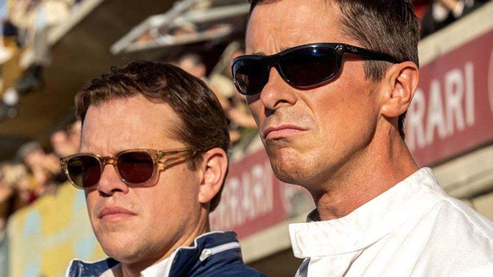 Matt Damon and Christian Bale, Ford v Ferrari