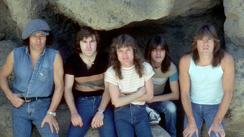 Rock band AC/DC