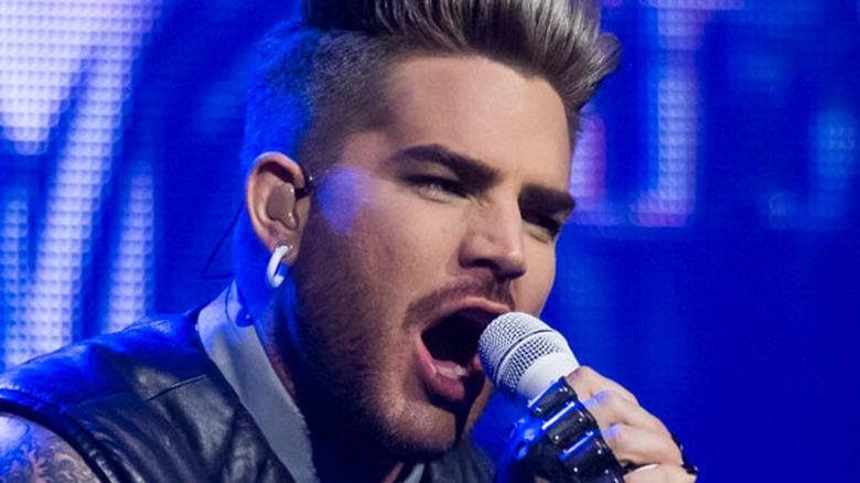 Adam Lambert singing