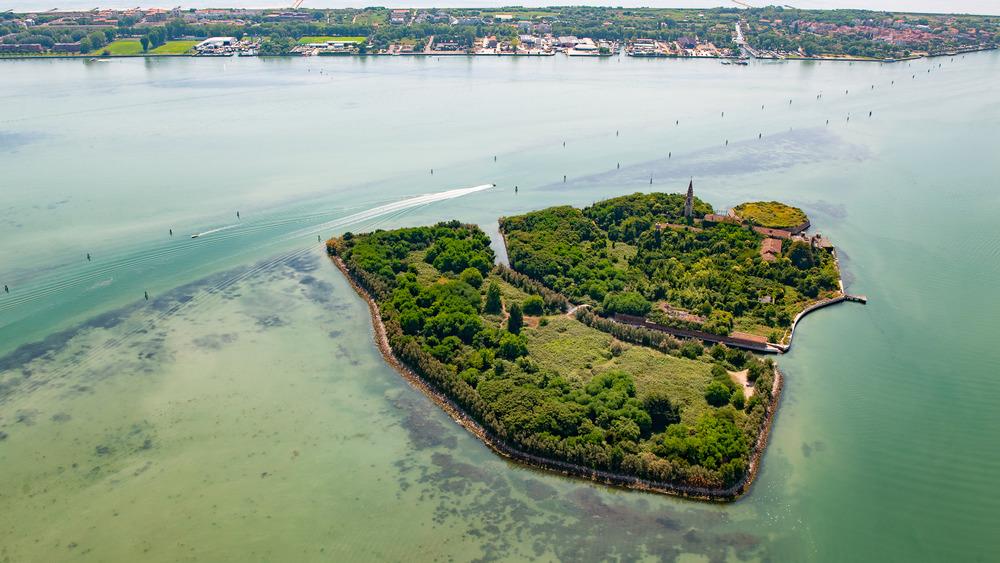 Poveglia Island, coast of Venice