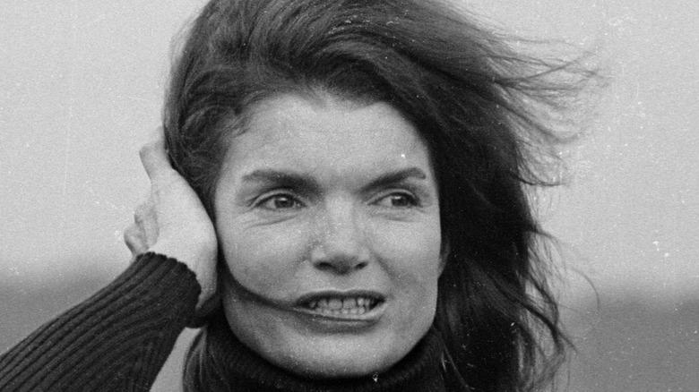 portrait of Jackie Kennedy