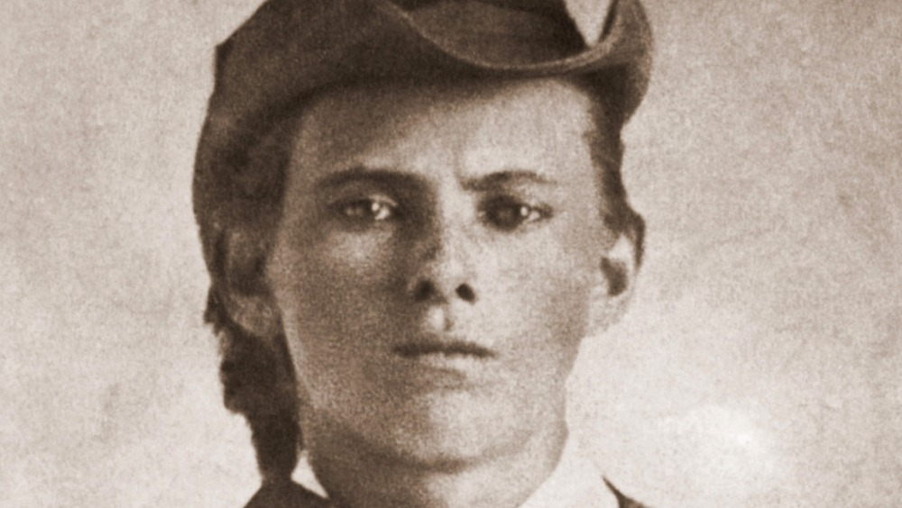 old photograph of jesse james