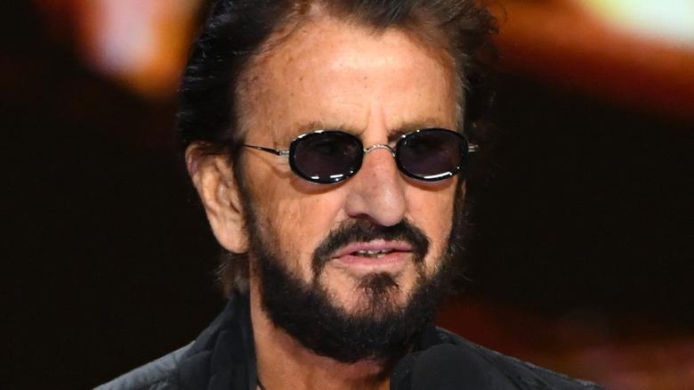 Ringo Starr on stage