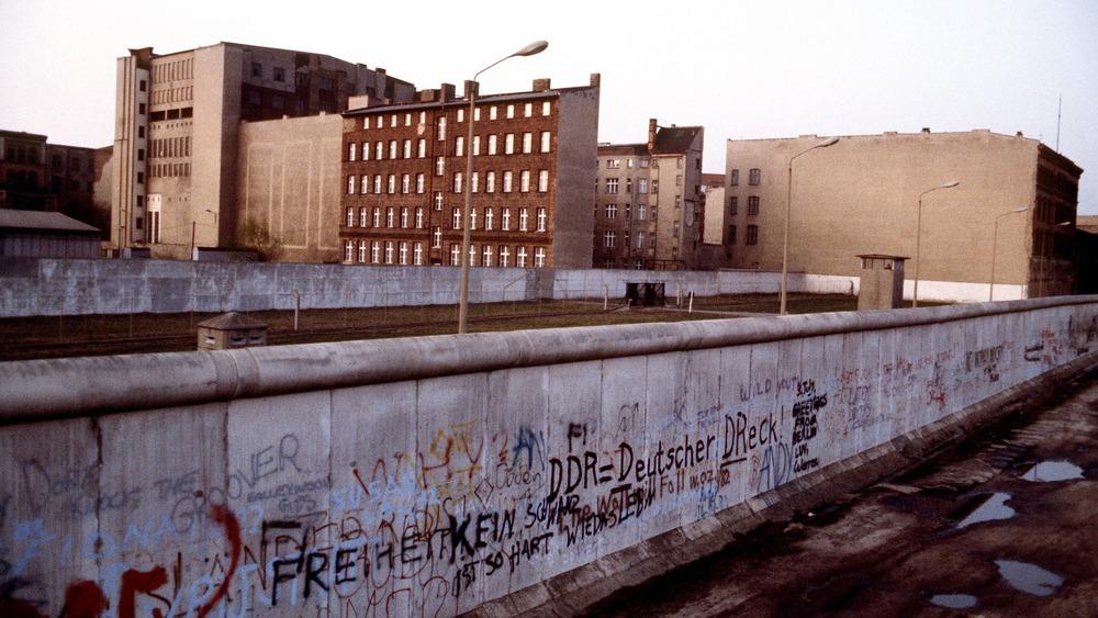 The Berlin Wall in 1983