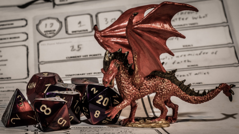 dungeons and dragons game pieces