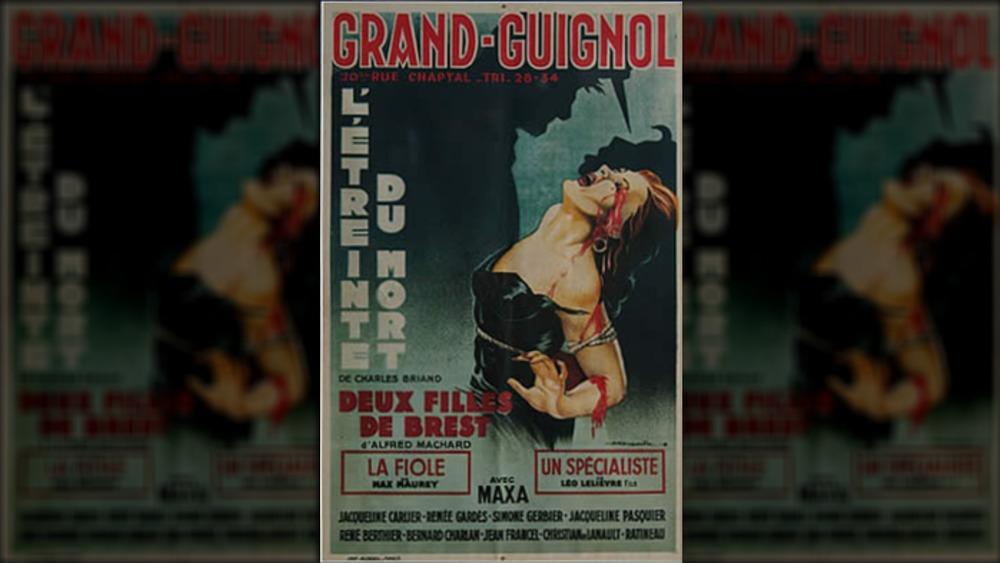Grand Guignol playbill
