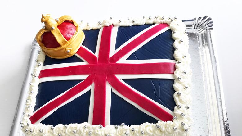 United Kingdom flag cake