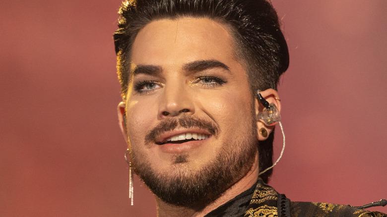 Adam Lambert smirk