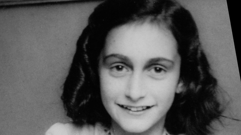 Anne Frank smiling