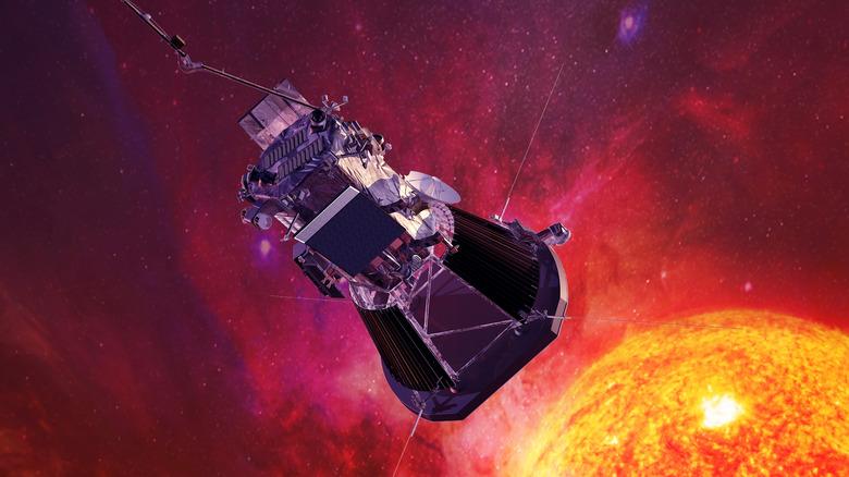 probe approaching the sun