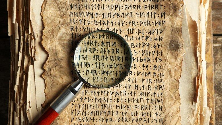 ancient language runes