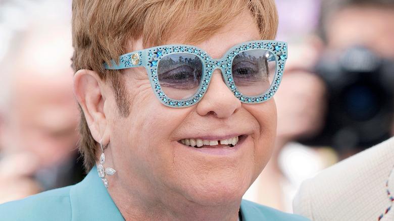 Sir Elton John and Queen Elizabeth