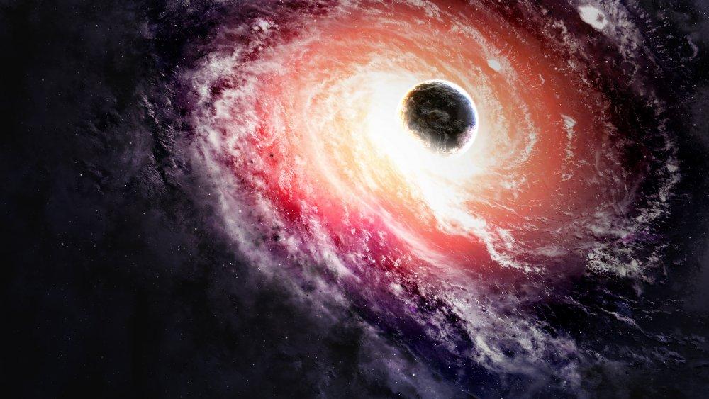 black hole quasar