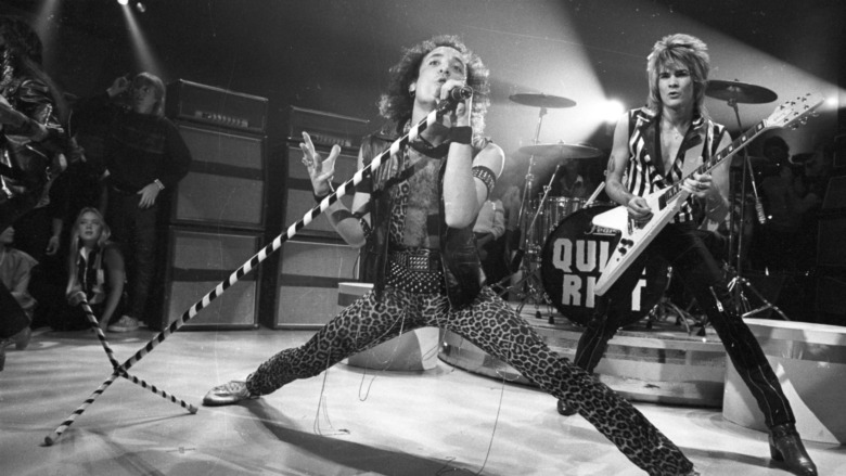 Quiet Riot performing on stage