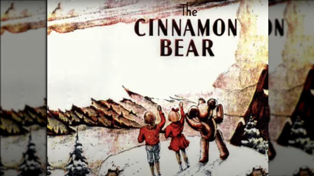 The Cinnamon Bear drawing
