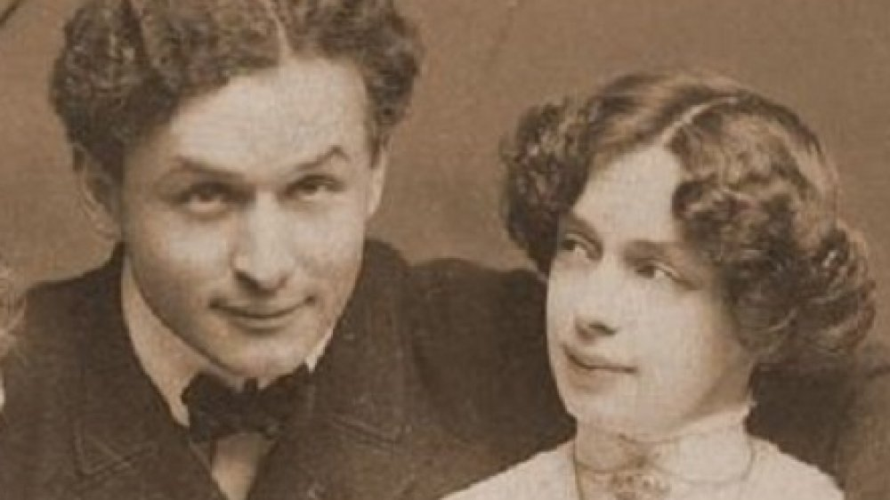 Bess and Harry Houdini