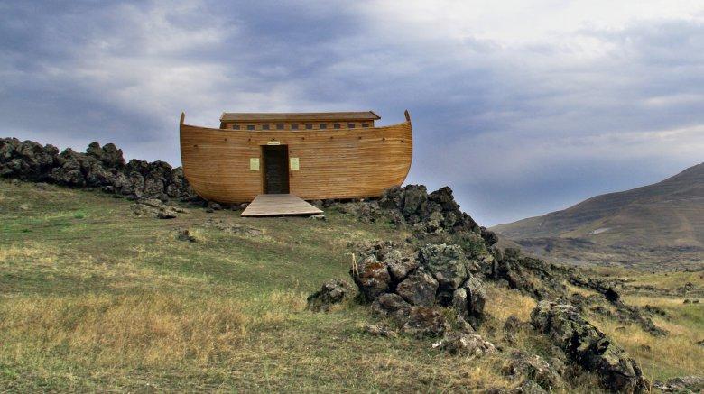 noah's ark on mountain
