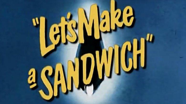 let's make a sandwich title card