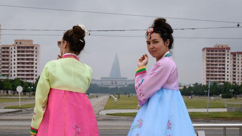 North Korea tourists