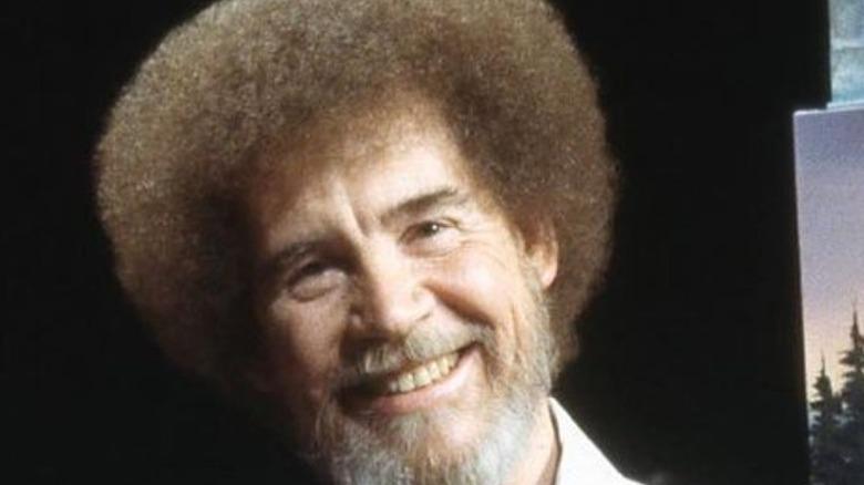 Bob Ross smiling