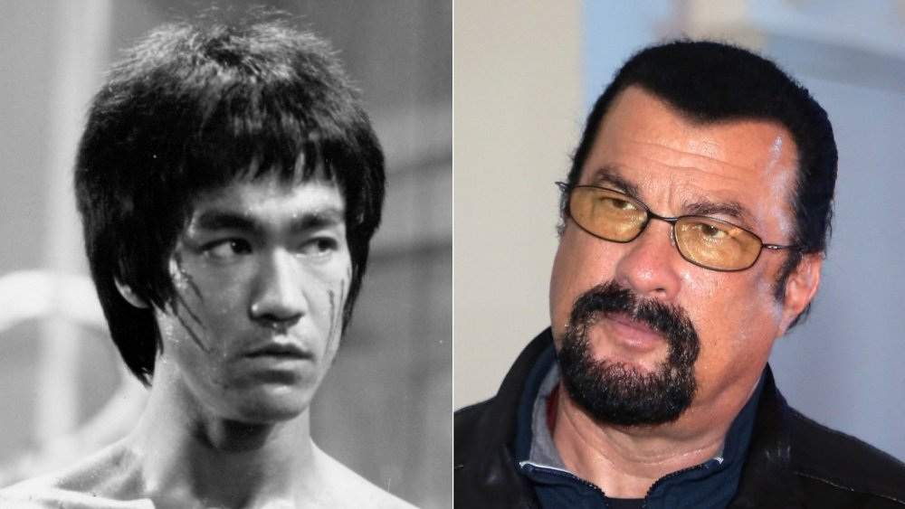 Bruce Lee and Steven Seagal
