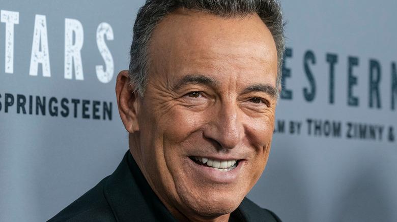 Bruce Springsteen smiling
