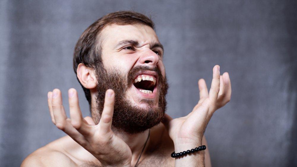 Beard, Man, Dirty