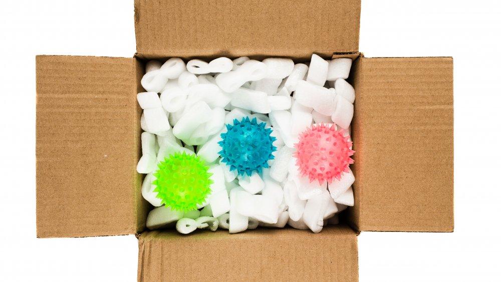 Box of coronavirus
