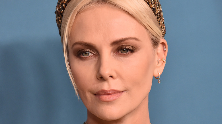 Charlize Theron close-up