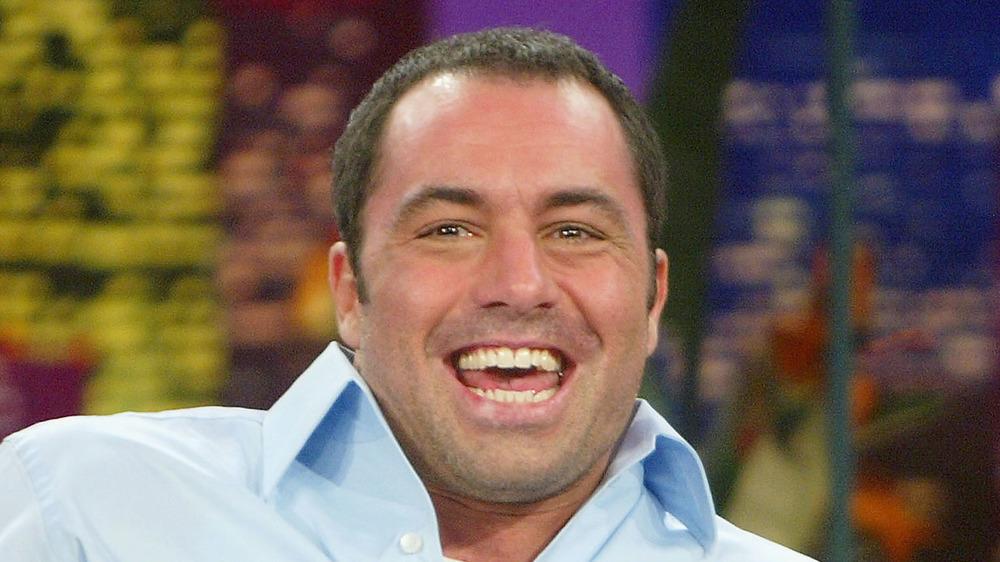 Host Joe Rogan smiling