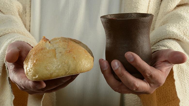 jesus last supper holy grail