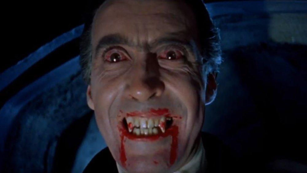 Hammer Dracula Christopher Lee