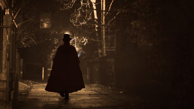 Jack the Ripper walking London