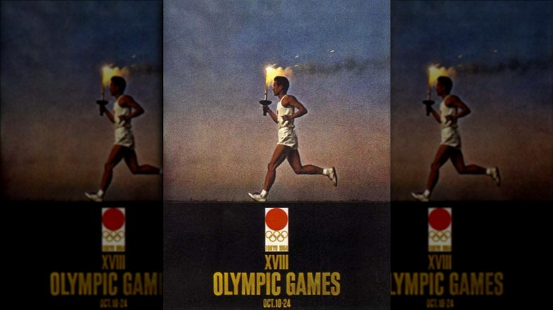 Tokyo 1964 Olympics poster