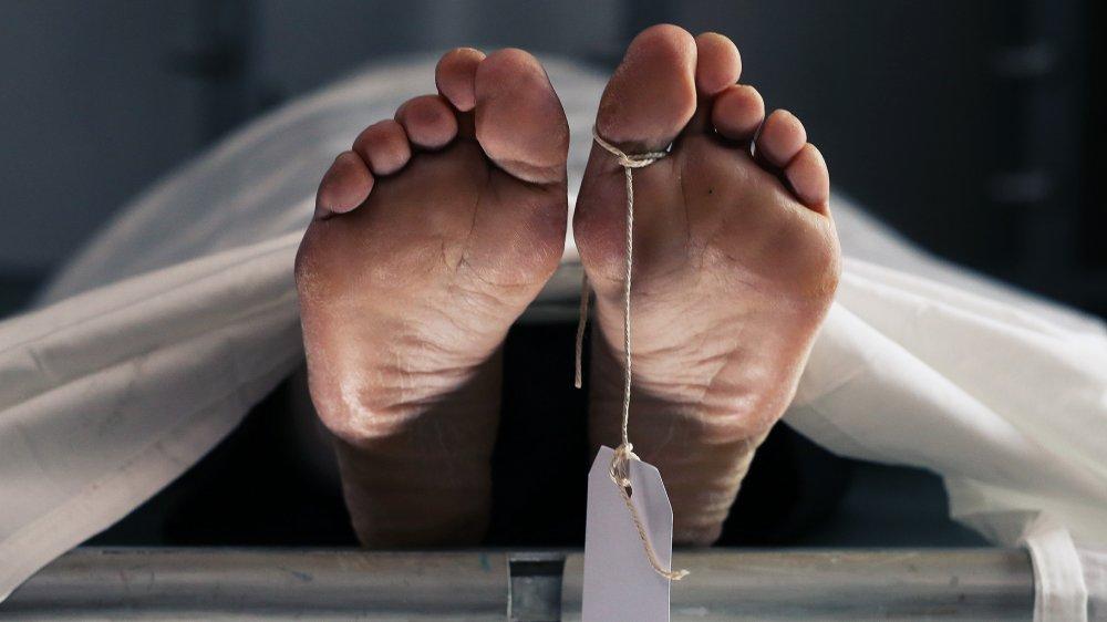 Body in the morgue