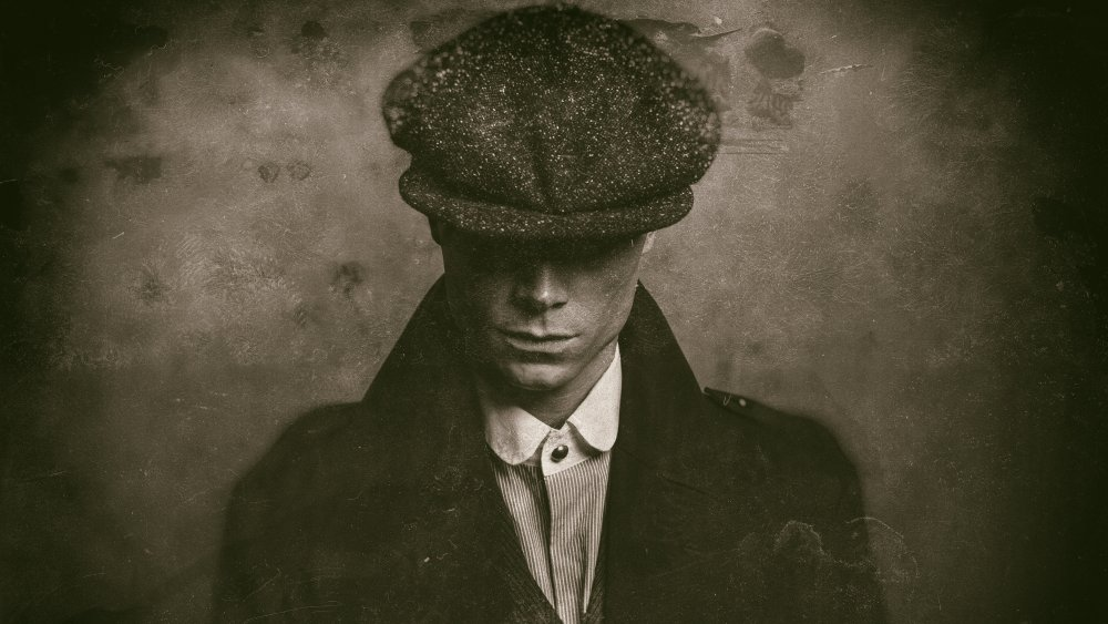 Generic 1920s gangster with flat cap