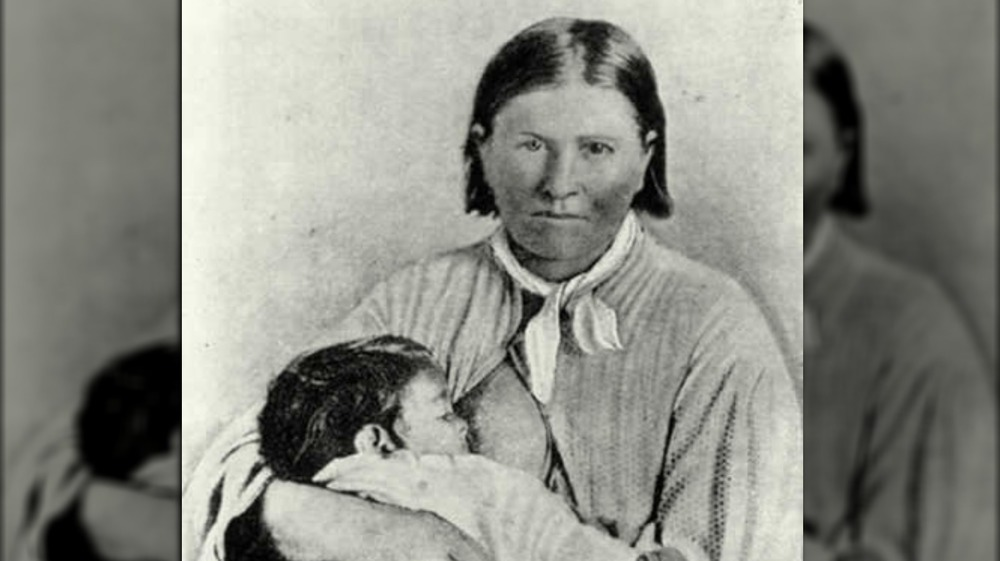 Cynthia Ann Parker and daughter