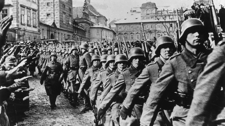 German troops in 1939