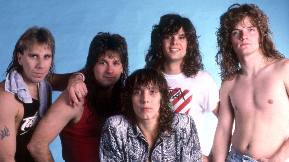 Def Leppard in 1987.