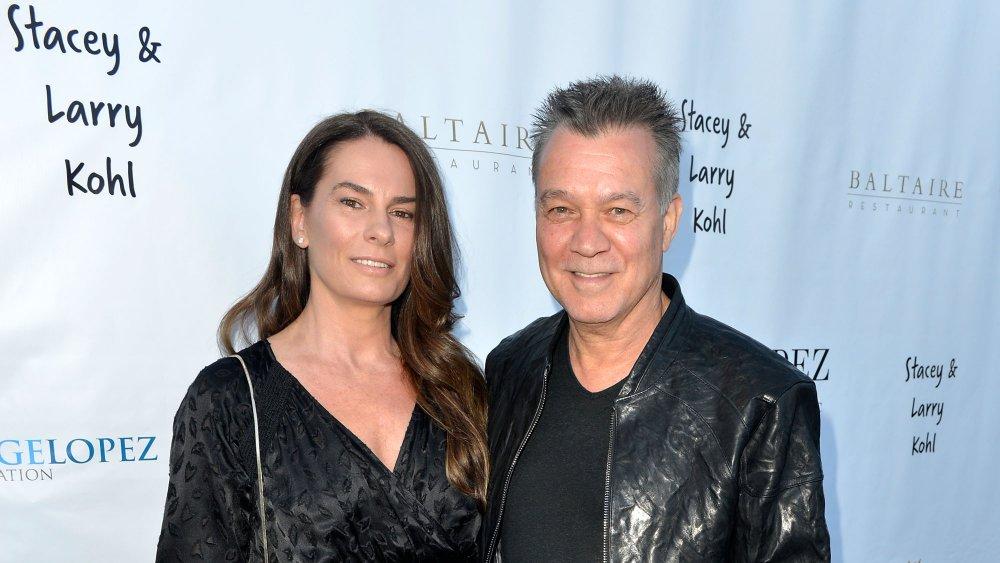 Janie Liszewski and Eddie Van Halen, 2017
