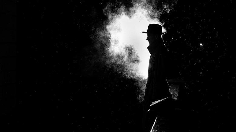 dangerous man silhouette