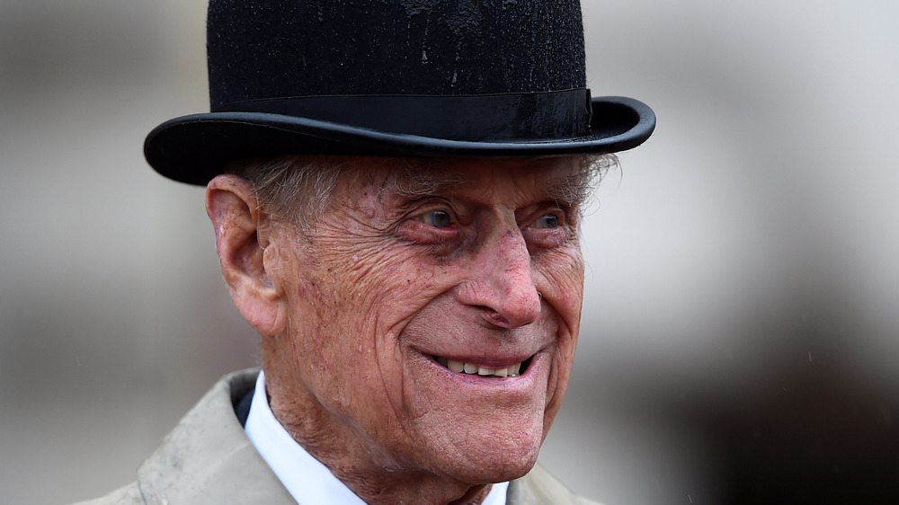 Prince Philip in derby