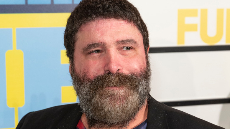 Mick Foley at book launch