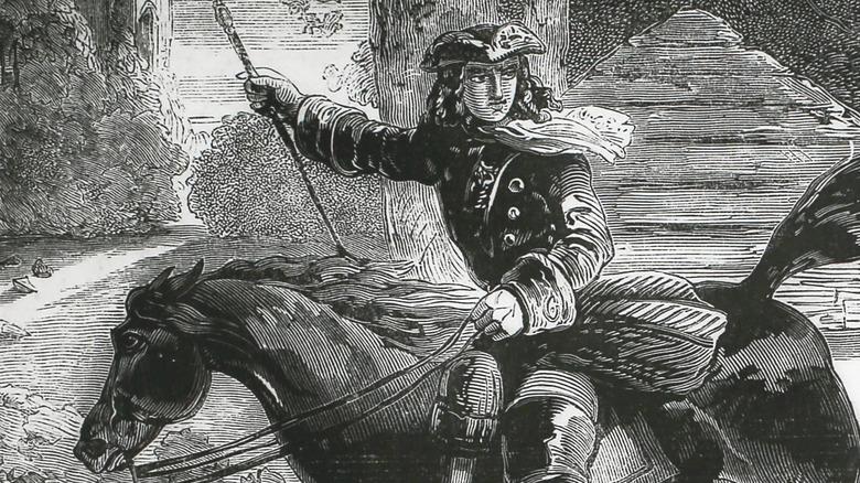 Highwayman Dick Turpin, circa 1735