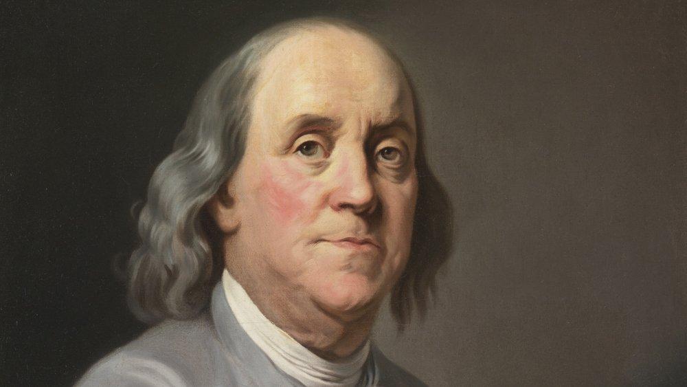 Painting of Benjamin Franklin