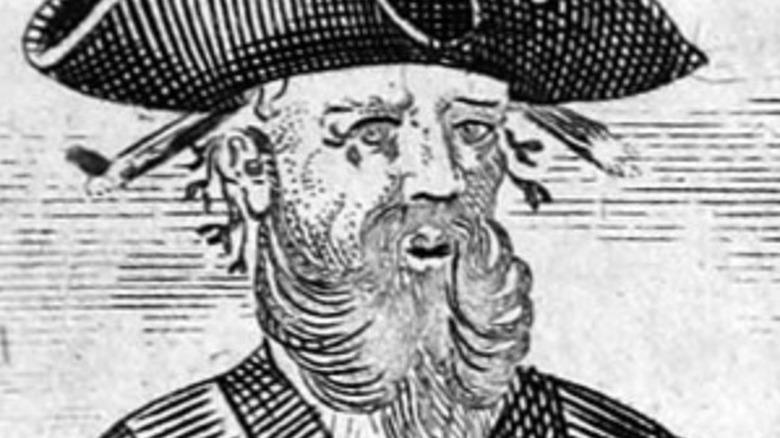 Engraved Blackbeard image