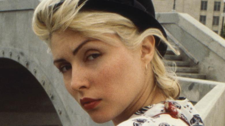 Young Debbie Harry raises eyebrow
