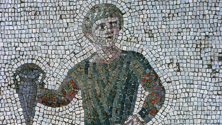 Carthaginian floor mosaic