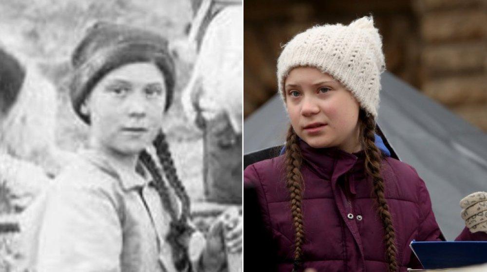Greta Thunberg doppelganger